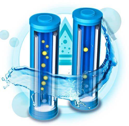 Sistem de filtrare pe baza de carbon activ