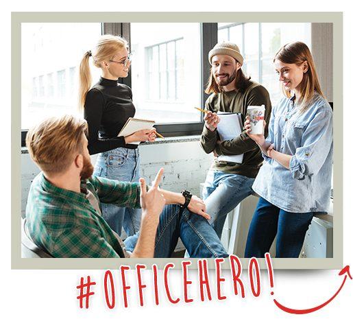 #OfficeHero!
